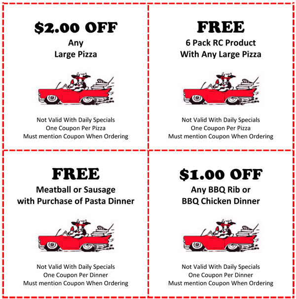 Round Lake Olando's Coupons